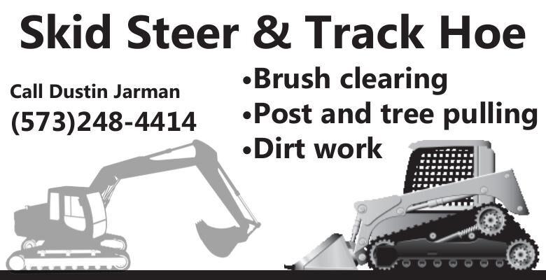 Skid Steer & Track Hoe