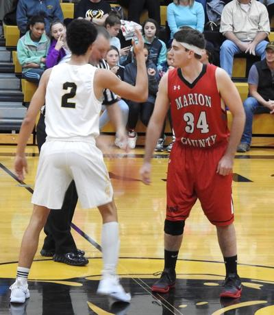 Panthers open Monroe City tournament with double victory