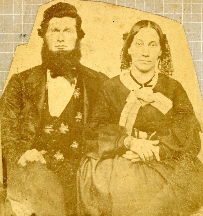 John Howe (1932-1892) & Mary Jacob Lear Howe (1830-1914) married Aug 9, 1866