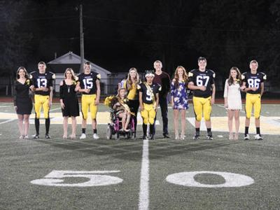Homecoming Royalty announced; student body warms hearts