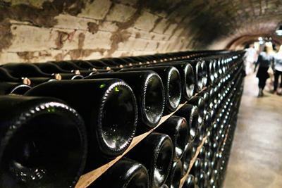 Dom Perignon in Paris cellar