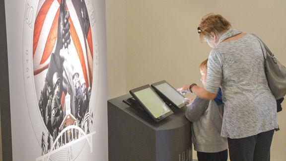 Traveling exhibit celebrates bicentennial