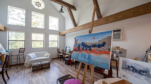 The Blue Heron | Lake Homes | lakemagazine life
