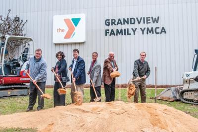Grandview YMCA groundbreaking