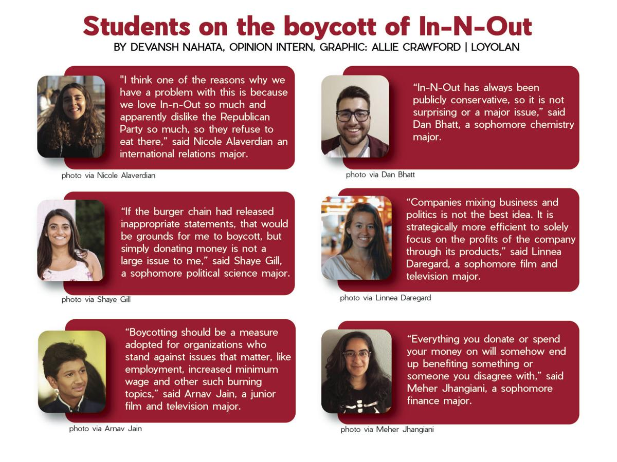 Students on Democrats boycotting In-N-Out | Opinion