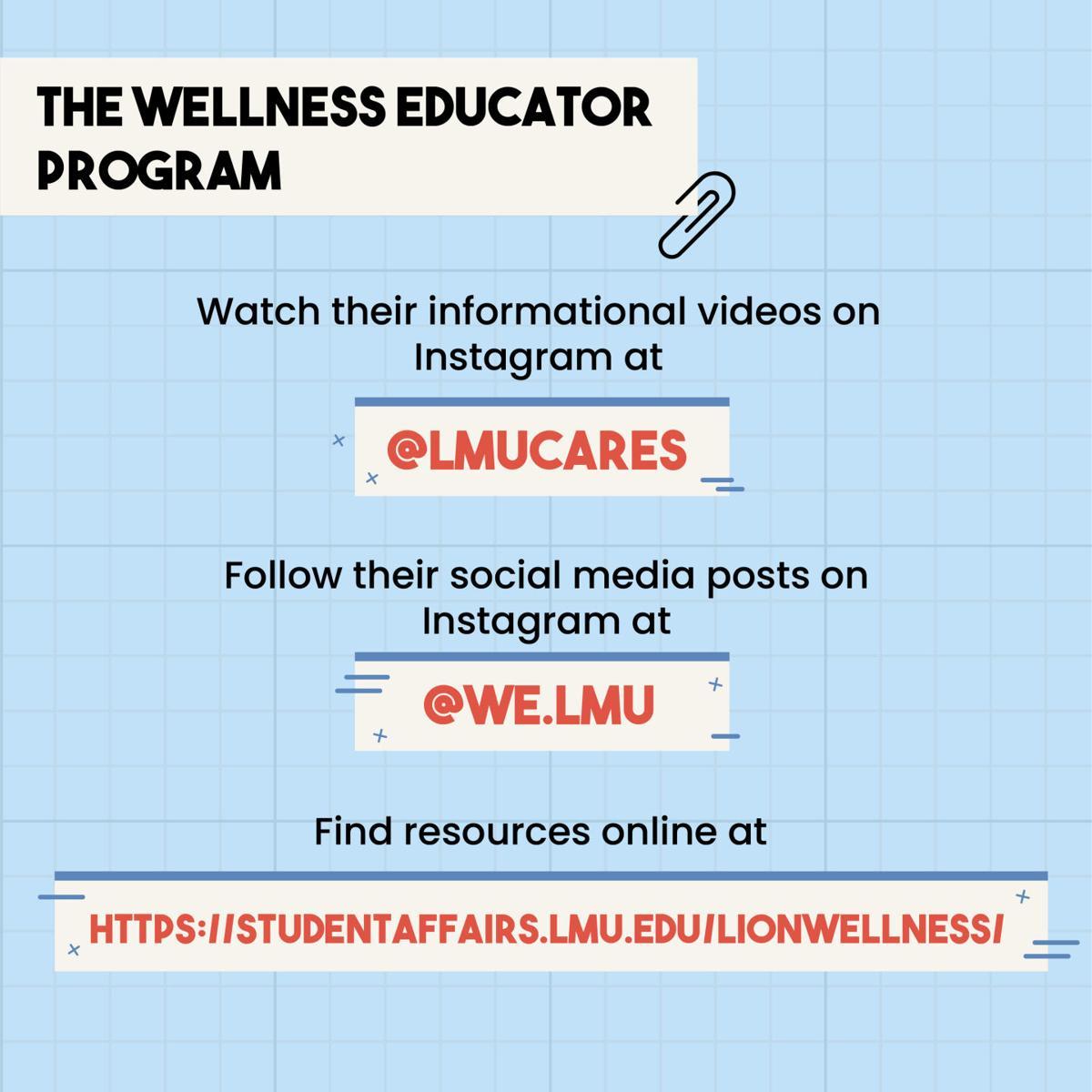 Wellness Educators