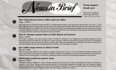 News in Brief 08/30