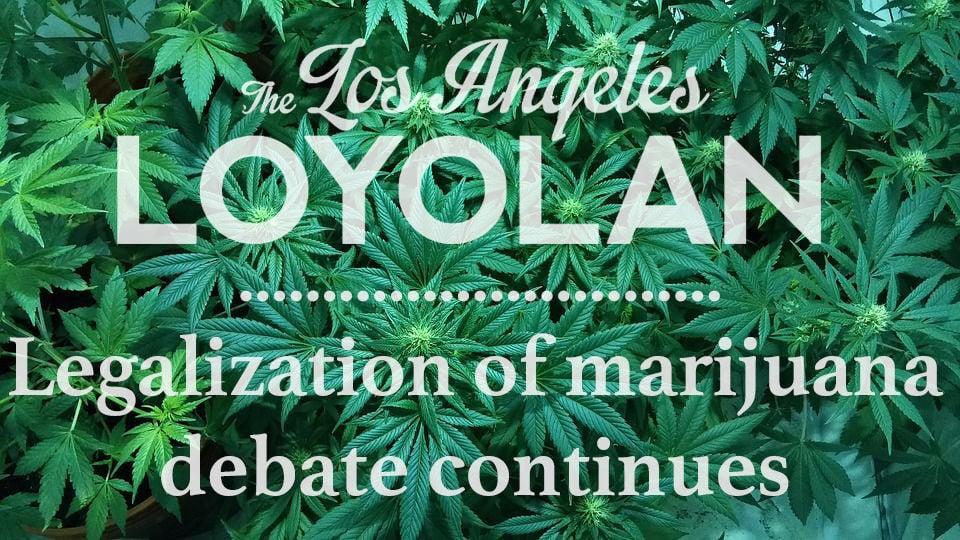 Marijuana legalization debate