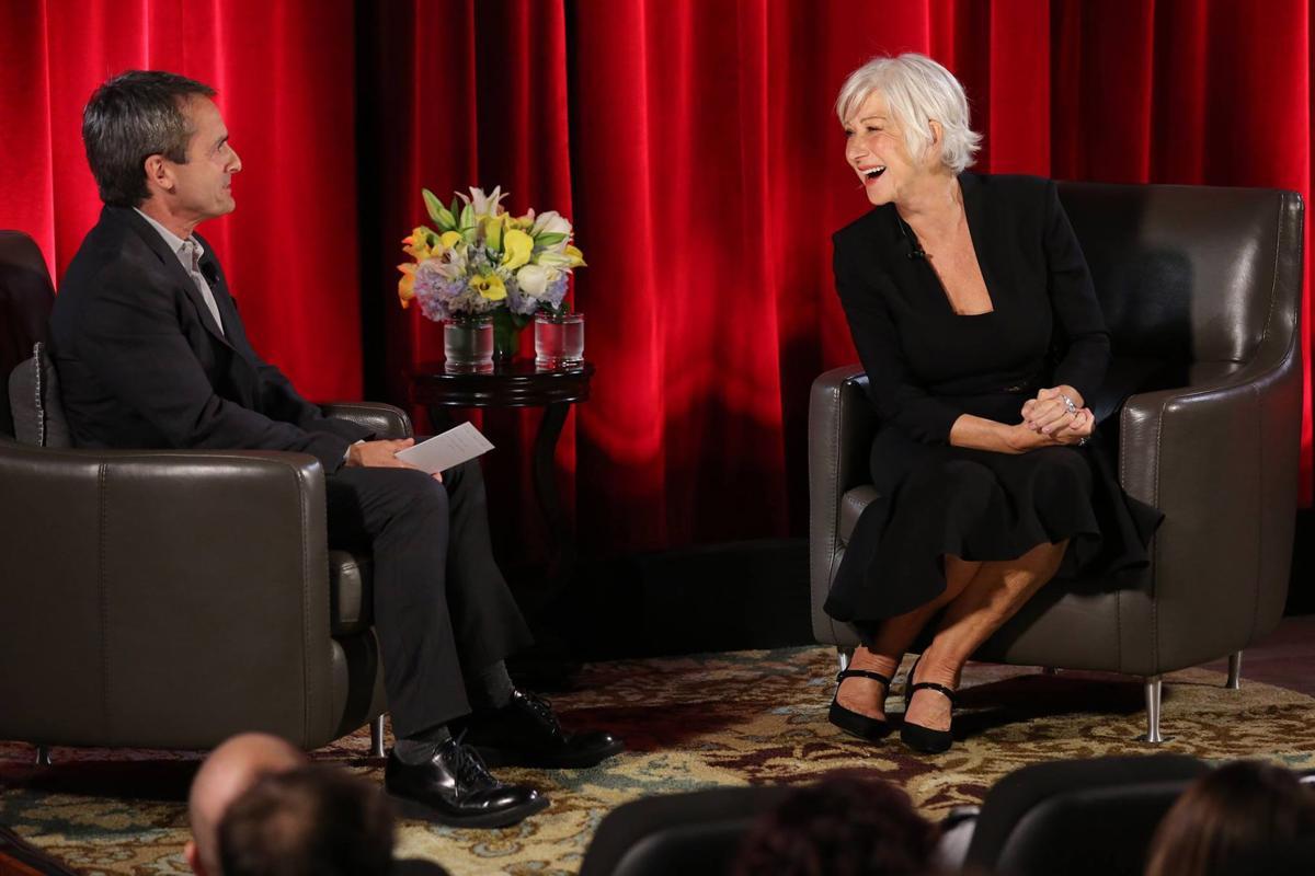 Helen Mirren Laughs