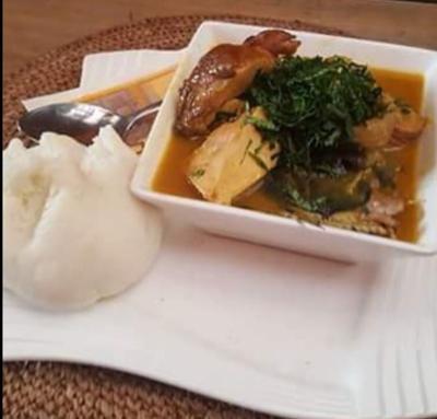 Okwuosa meal