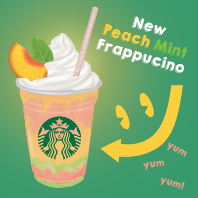 Peach-mint flavoring has never been more popular