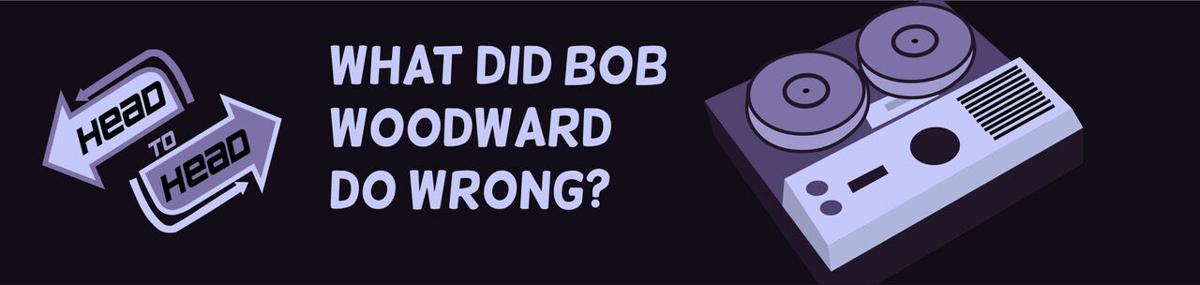 Bob Woodward Banner