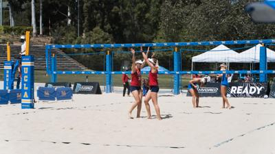 beach volleyball vs. ucla