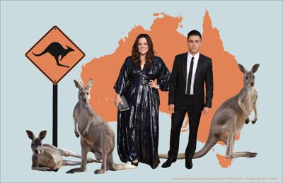Hollywood Stars in Australia