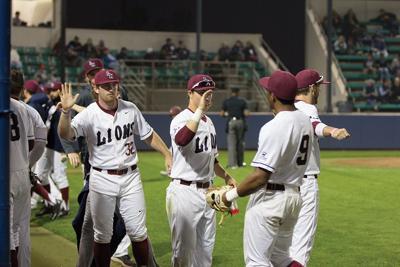 LMU Men's Baseball team