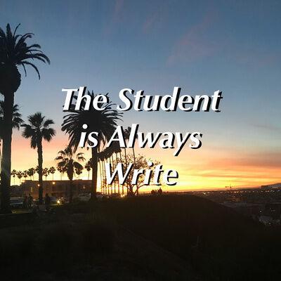 Student Is Always Write
