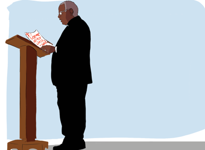 Bishop Bennett Cartoon