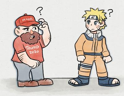 """Trump supporters fearful of election results, now turning to anime and """"shifting"""" universes to cope."""
