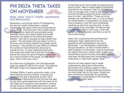 phi delta theta takes on movember