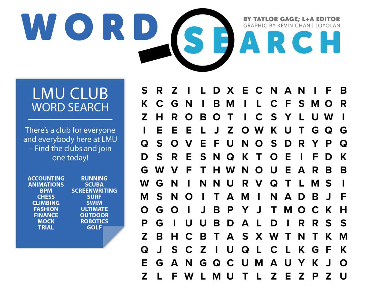 Word Search 11 8 17 Arts And Entertainment Laloyolan Com