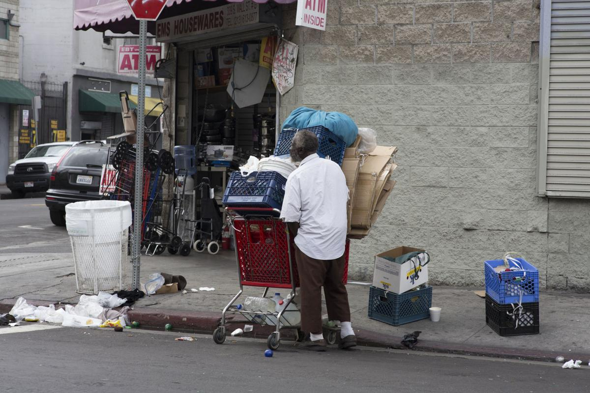Homelessness In L A Unaffected By New Laws News Laloyolan Com
