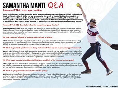 Samantha Q&A graphic