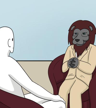 Therapist Lion