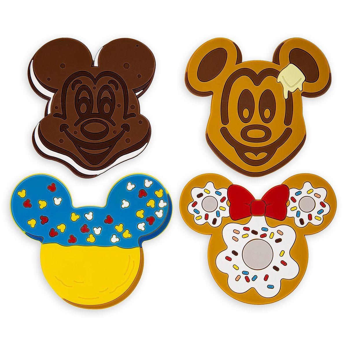 Disney Food Icon Coaster Set