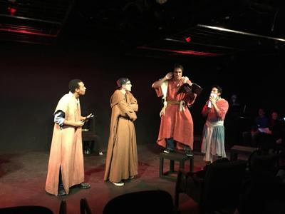 """A stage reading of """"Antinous"""""""