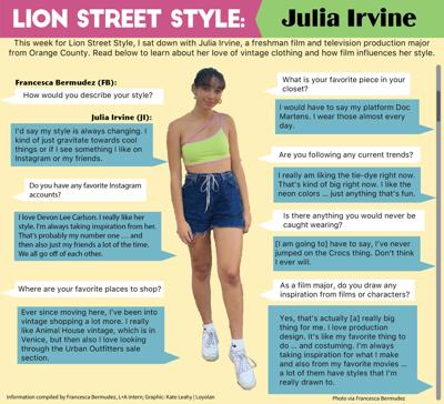 Lion Streetstyle: Julia