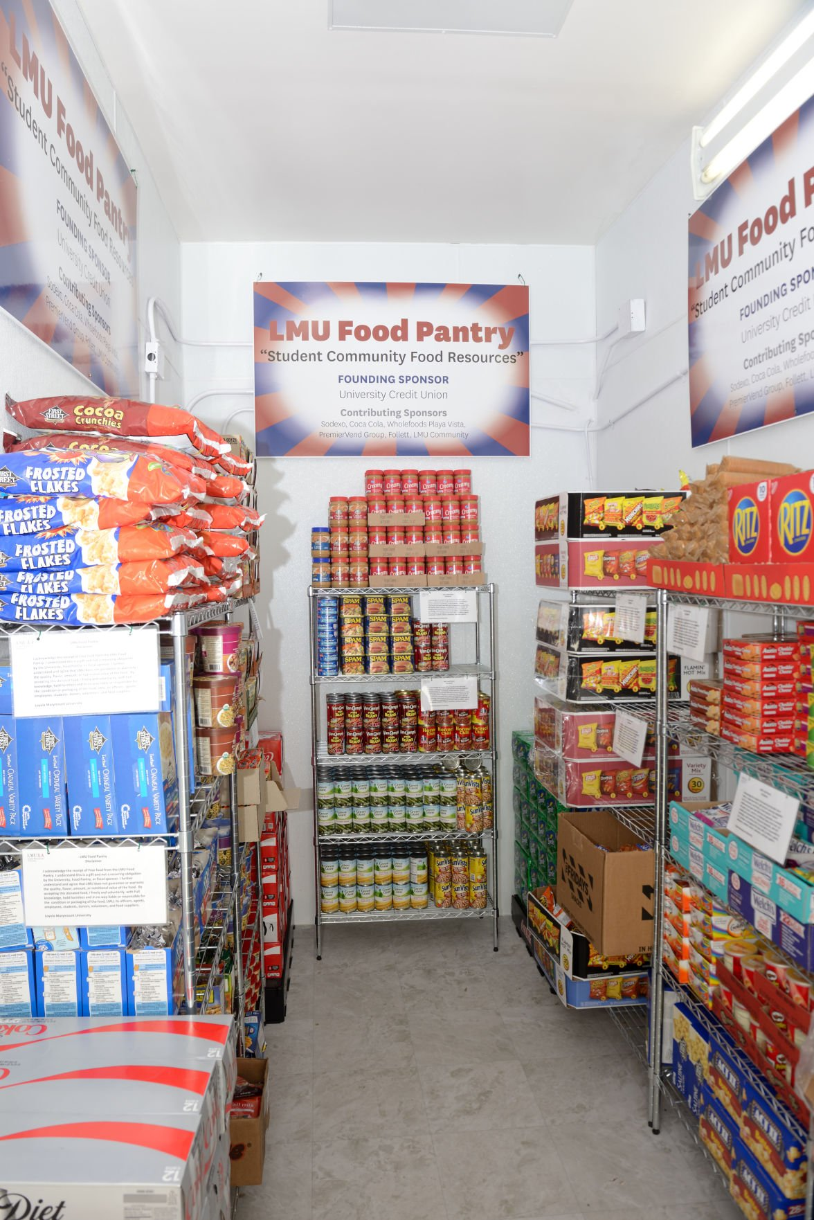 Lmu S Food Pantry Provides Immediate Relief To Students In