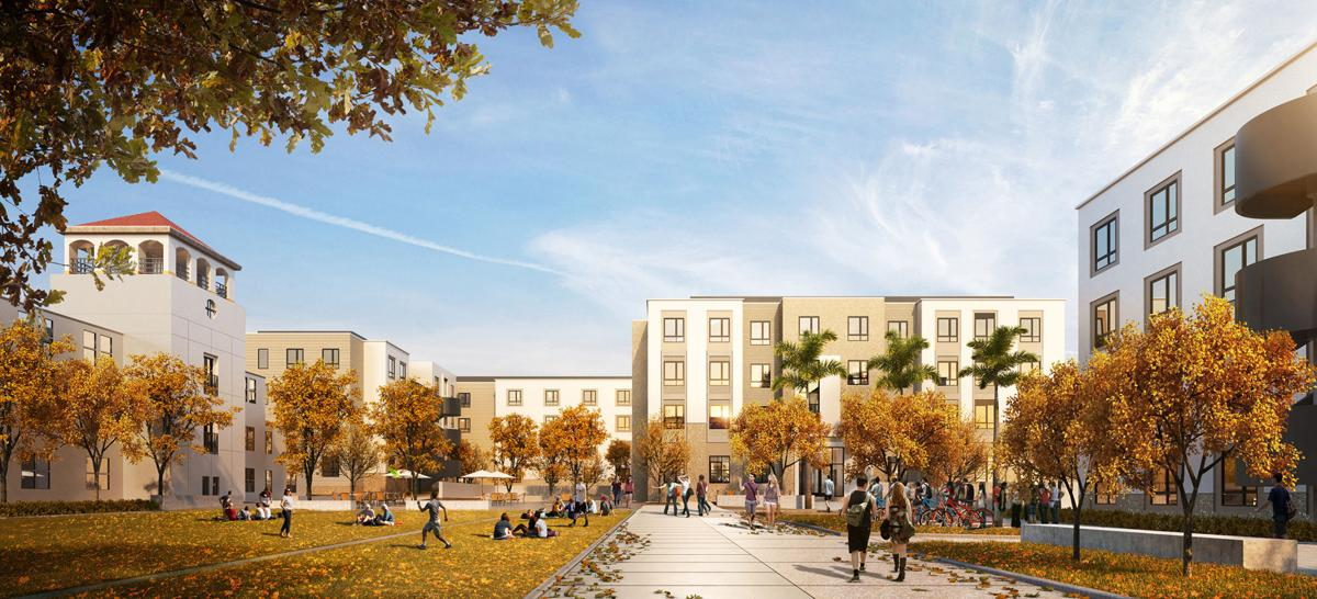 New rendering of East Quad