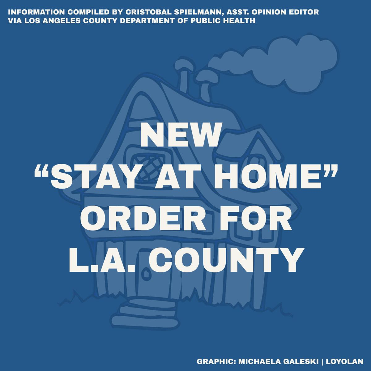 LA Stay at Home Order 1