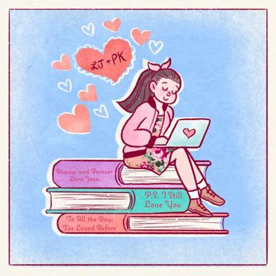"""Life + Arts """"Netflix teen rom coms & Noah Centineo: a love story""""(cartoon)"""