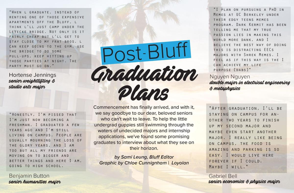 Bluff Post Graduation Plans | The Bluff | laloyolan com