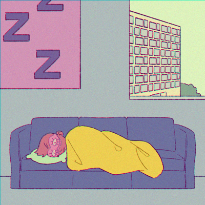 Nap Rooms Cartoon