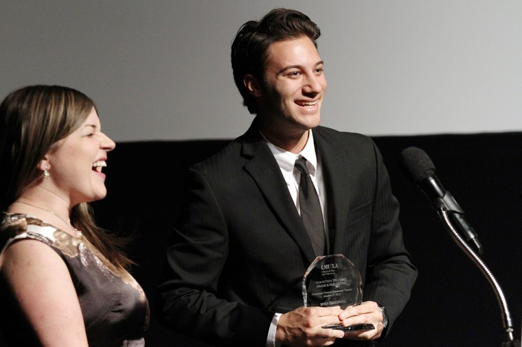 """Catherine Wolf and Bryce Hirschberg win Best Picture for """"Counterfeiters"""""""