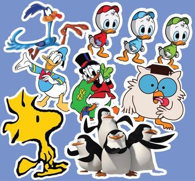 BLUFF Cartoon Bird Husbands graphic