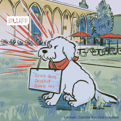 Buster goes on strike! Inspired by IATSE fight