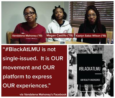 #BlackatLMU graphic