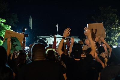 Protestors in Washington D.C.