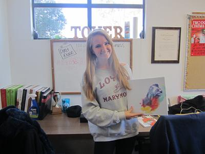 Tower Yearbook's editor in chief, Sheree Shea