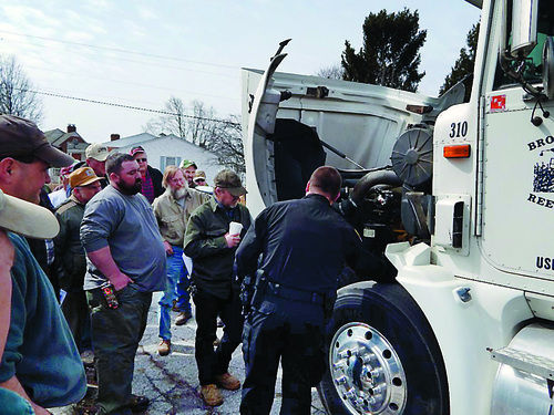 Farmers get close look at vehicle inspection process for Pa motor vehicle inspection