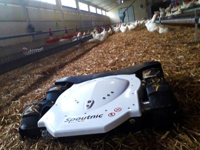 TIBOT Technologies' Spoutnic Robot