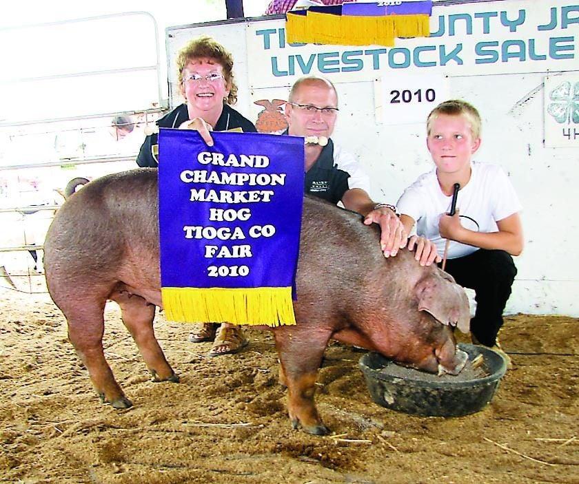Tioga County Junior Livestock Sale All for the Kids   Main
