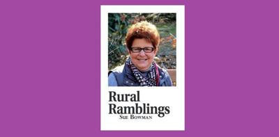 Sue Bowman Rural Ramblings purple