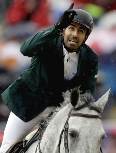 Olympics: Saudis take surprise lead in show jumping; US in 7th