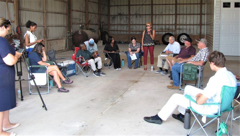 Farmers gather to learn about soil health