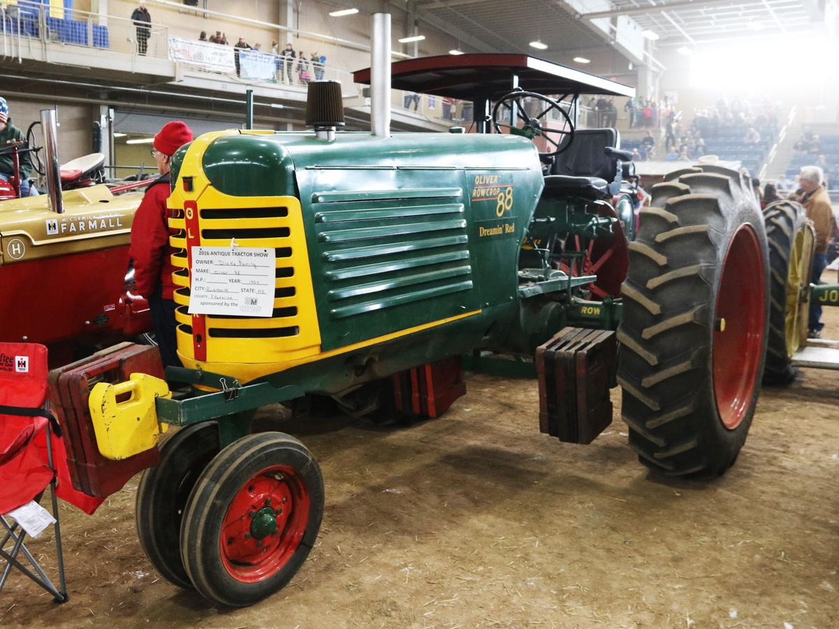 1950 Oliver Model 88 Row Crop
