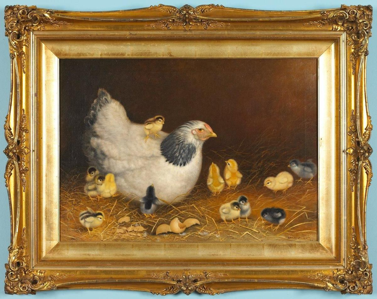 Ben Austrian A Renowned Painter Of Poultry Main Edition